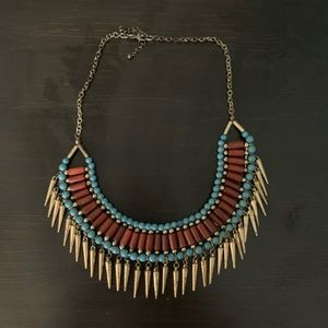 🔸 Boho Statement Necklace